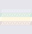 four slavic friezes vector image vector image