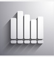 sound bars icon vector image vector image