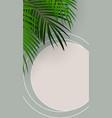 summer abstract instagram stories banner vector image vector image