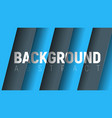abstract background with black and blue hovering vector image