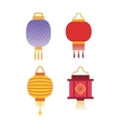 Chinese lantern vector image vector image