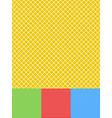 different lines background set gridded diagonal vector image