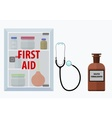 First-aid vector image vector image