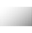 halftone gradient background square dots vector image vector image