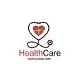 medical halth care icon vector image vector image