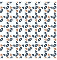 seamless pattern of primed volume triangles vector image