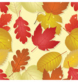 autumn - seamless image vector image vector image