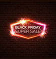 black friday super sale background discount card vector image vector image