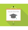 college education vector image