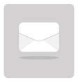 flat icon envelope vector image vector image