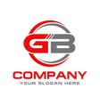 gb logo vector image