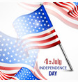happy independence day banner vector image
