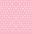 Seamless pattern with hearts and stars vector image
