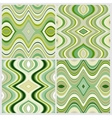 set seamless abstract wavy backgrounds vector image
