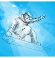 Snowboarding Hand drawn