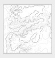 topographic contour map background - topo vector image