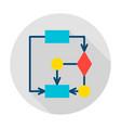 algorithm circle icon