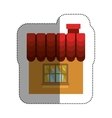 Isolated house design vector image vector image