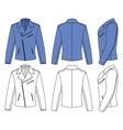 jacket vector image vector image