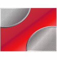 red metallic abstract background 1 vector image vector image