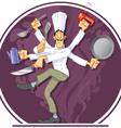 wonder cook vector image vector image