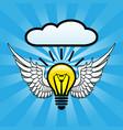 idea concept design vector image