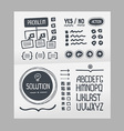 Action Plan - Hand Drawn Elements Template vector image