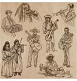 musicians - set vector image