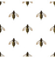 bee triangle seamless pattern backgrounds vector image