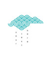 cloud pattern vector image