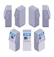 Isometric ATM vector image