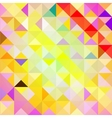 Pattern of geometric shapes TrianglesTexture vector image vector image