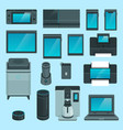 smart devices vector image vector image