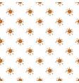 spot of brown caramel pattern vector image vector image