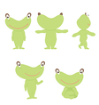 frog character vector image vector image