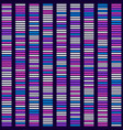 genome science structure visualization vector image vector image