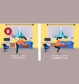 position when lifting things for pregnant vector image vector image
