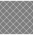 repeating black and white square pattern vector image vector image