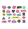 super sale labels hand drawn stickers and tags vector image vector image
