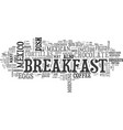what mexico eats for breakfast text word cloud vector image vector image