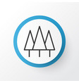 wood icon symbol premium quality isolated forest vector image vector image