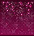 abstract background on february 14 vector image vector image