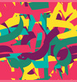 abstract painted seamless pattern vector image