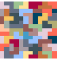 Abstract Seamless pattern of geometric colorful vector image vector image
