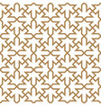 ancient arabic ornament in the form of vector image vector image