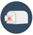 box communication isolated icon editable vector image vector image