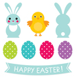 Easter design elements set vector | Price: 1 Credit (USD $1)