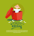 happy father day family holiday small son in vector image vector image