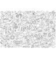 Hipster abstract vector image vector image