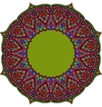 Multicoloured Indian mandala Tribal element in vector image vector image